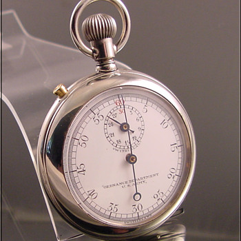 U.S. Army Ordnance Pocket Watch