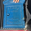 Oakland Police Department Gamewell Cast Iron Phone Call Box