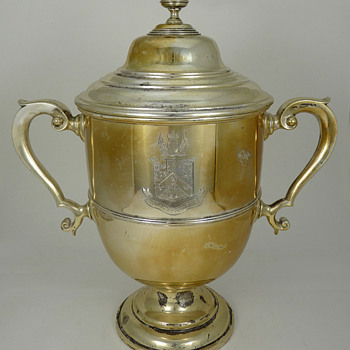 Sterling Trophy Restored - Sterling Silver