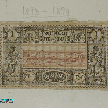 british somaliland stamp 1893-1894 no nothing about it edith cavell cinderella stamp