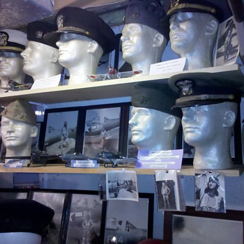 WWII US Navy Officer hats - Military and Wartime