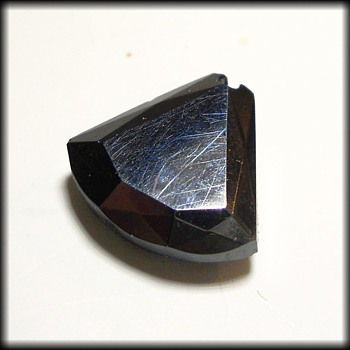 Vintage 1960's early 1970's ( broken ) ONYX STONE  - Fine Jewelry