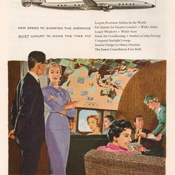 1955 - Lockheed Aircraft Advertisement - Advertising