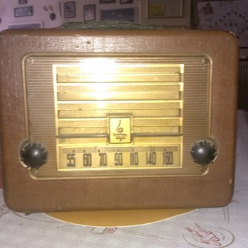 My old Emerson Radio - Radios