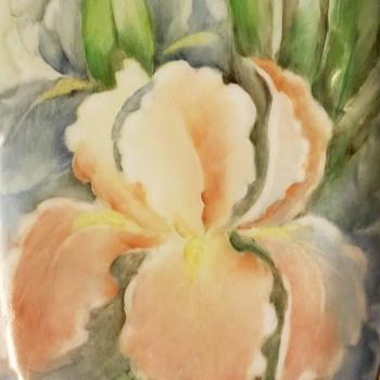 Floral Serving Dish-Gerold Porzellan - Pottery