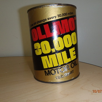 OLLMO OIL CANS - Petroliana