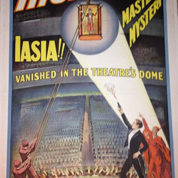 Iasia: Vanished in the Theatre&#039;s Dome