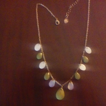 Green and White! - Costume Jewelry