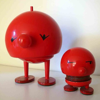 bimble and baby bimble - hoptimists - Mid-Century Modern