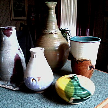 "My ""Lois Van Vleet"" Pottery Collection  - Pottery"