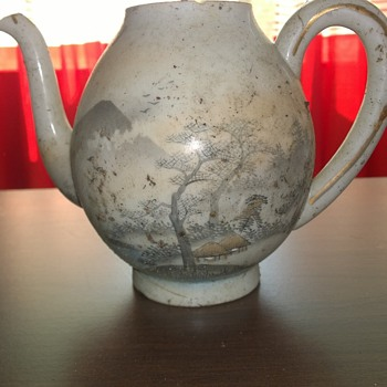 Found: dirty Teapot -please help to identify