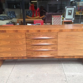 Mid Century rosewood sideboard