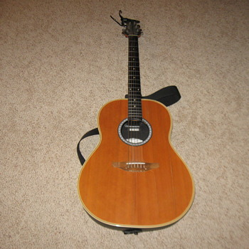 1975 Ovation Medallion Guitar