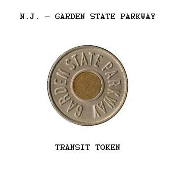 Garden State Parkway - Transit Token - US Coins