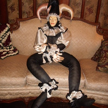 4&#039; Jester Doll - Dolls