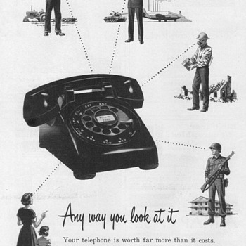 1952 - Bell Telephone Advertisements