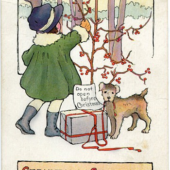 Vintage Christmas Postcards.... - Postcards