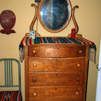 Dresser I found in the trash the other day! - Furniture