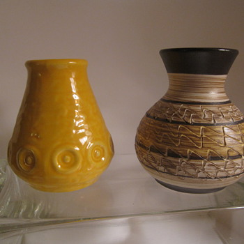 German Pottery Scheurich & Jasba