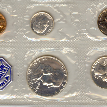 1958 US Mint Proof Set - US Coins