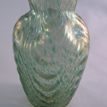 1904 Loetz Oceanic (Wellenoptish) Art Glass Vase Prod. Nr. 1259 - Art Glass