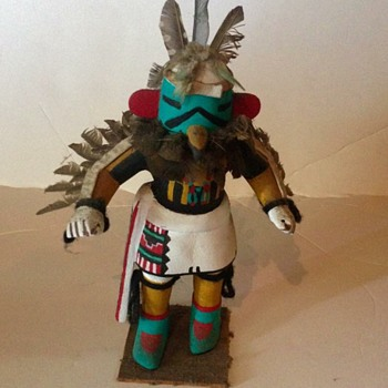 Native American Eagle Kachina Doll