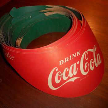 1952 Coca-Cola Paper Visors