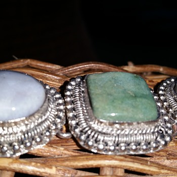 Vintage stone jewelry