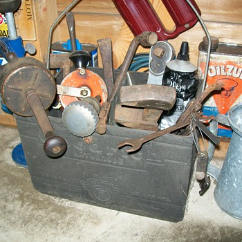 B.F.Goodrich battery toolbox