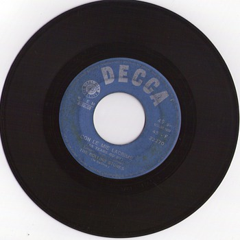 The Rolling Stones sing in Italian - Records