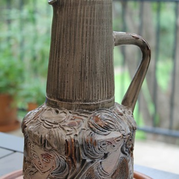 Italian Pitcher by Fratelli Fanciullacci - Art Pottery