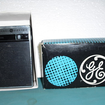 General Electric am radio.