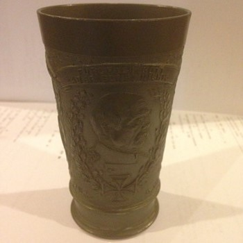 Otto Von Bismark pewter ceremonial cup - Military and Wartime