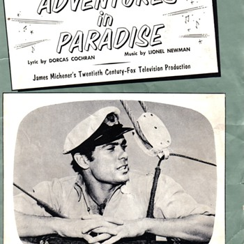 Adventures in Paradise Sheet Music - Music