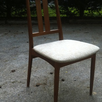 "Dining Chair Marked ""Made in Denmark"""