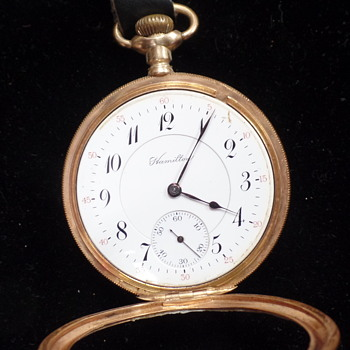 Very Rare Hamilton 994, 14kt Gold Case - Pocket Watches
