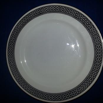 Spode china plates