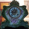 Porcelain Ansonia Mantle Clock