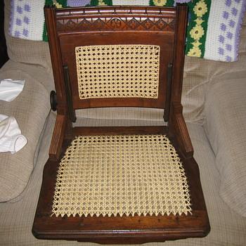 An East Lake secretary's chair