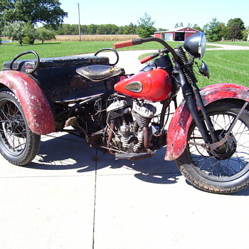 1940 Harley Servi-car - Motorcycles