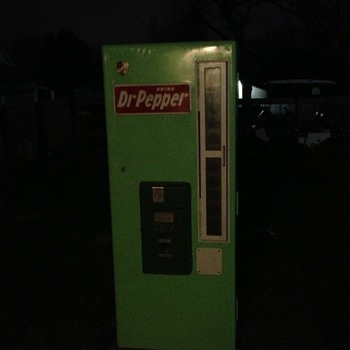 DR Pepper selectivend Drink Machine