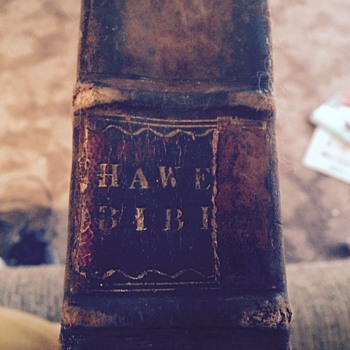 Old Bible, needing info