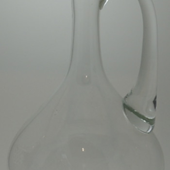 Large Glass Decanter, Jug?? - Bottles