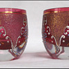 Moser Ruby Glass Salts
