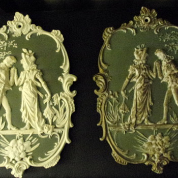 Original Arnart Japan Wall Plaques.