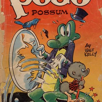My worst-condition Pogo comic: No. 4