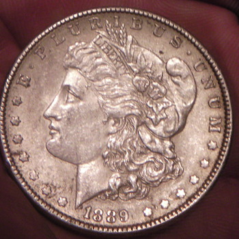 1889 Silver Dollar  - US Coins