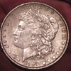 1889 Silver Dollar 