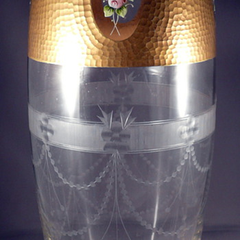 UNIDENTIFIED BOHEMIAN or FRENCH GLASS VASE ?