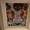 "LOUIS "" ONE JOINT"" BLEUSANT FOLK ART PAINTING"